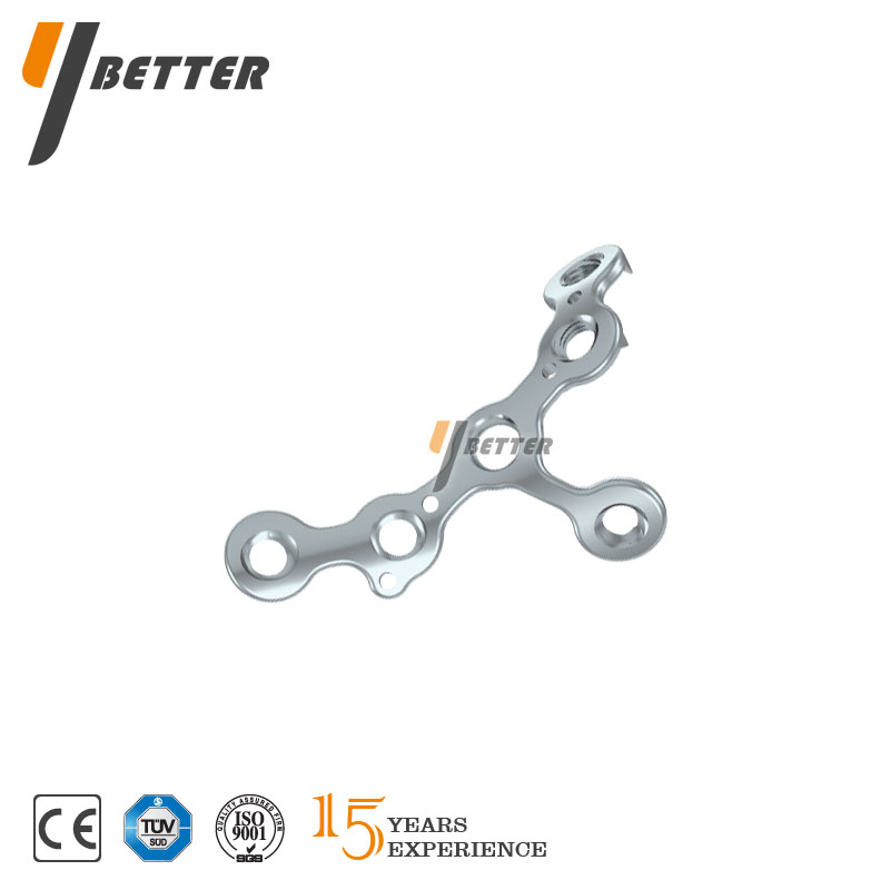 Coronary Process Locking Plate